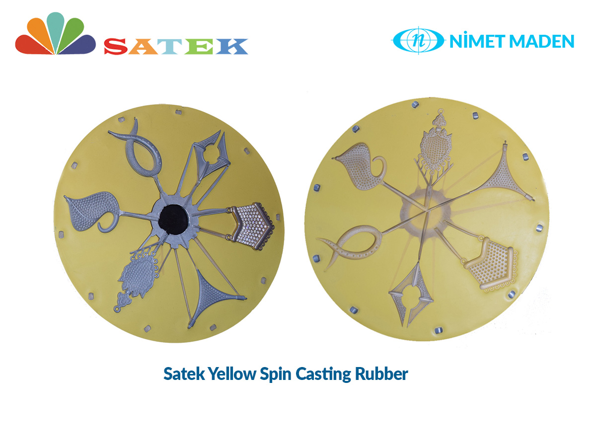 spin casting rubber